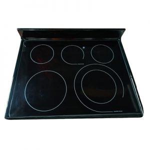 Sobre vitroceramico negro para cocina Frigidaire 316531981