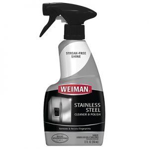 Limpiador líquido de acero inoxidable