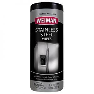 Toallas húmedas para limpiar acero inxidable